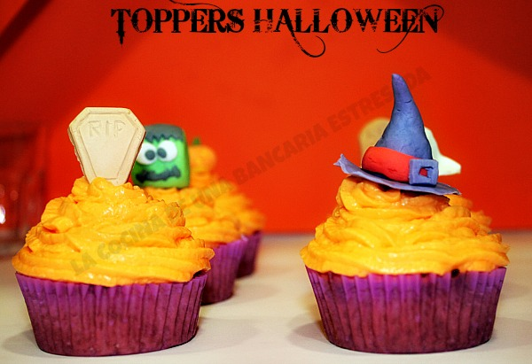 TOPPERS CUPCAKES PARA HALLOWEEN