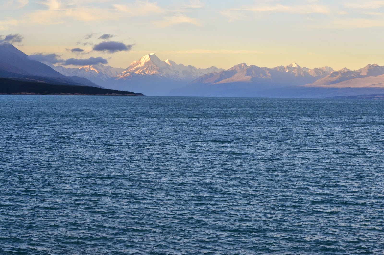 lake pukaki, new zealand,