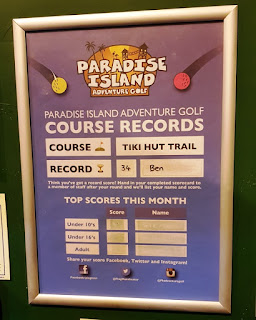 Tiki Hut Trail at Paradise Island Adventure Golf Manchester