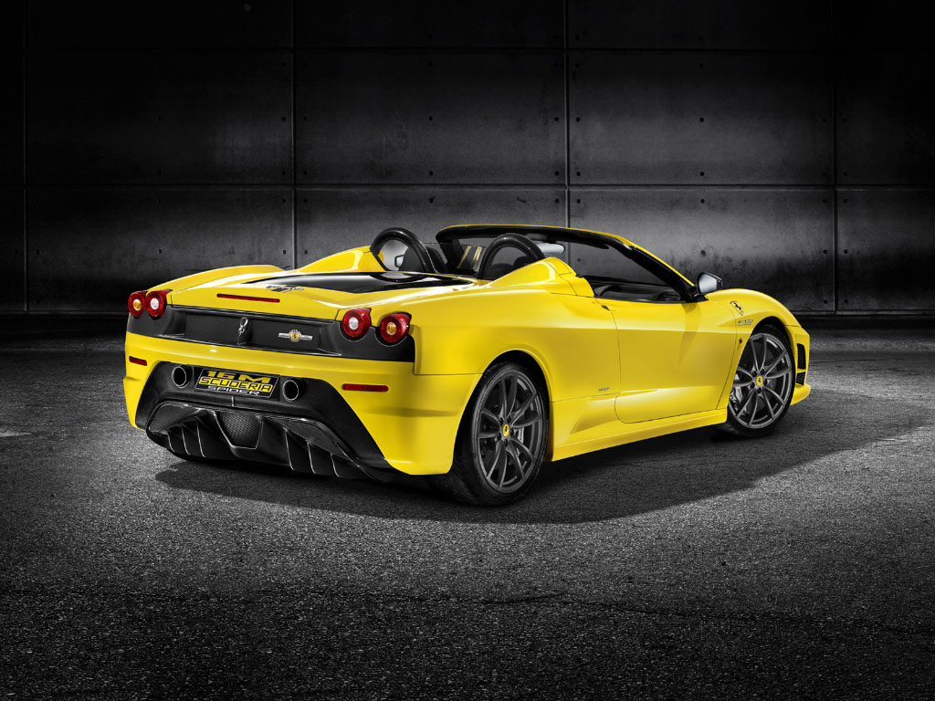 World Of Cars Ferrari F430 Spider Wallpaper 1