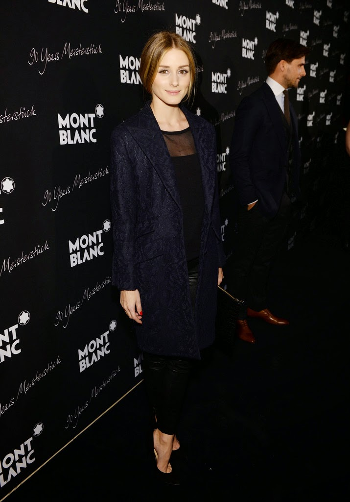Olivia Palermo at Montblanc Party in New York City.
