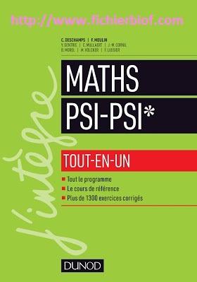 Maths - PSI - Tout en un - J'integre