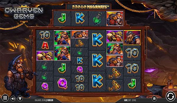 Main Gratis Slot Indonesia - Dwarven Gems Megaways Iron Dog Studio