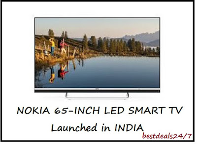 Nokia 4K LED Smart TV launched in India