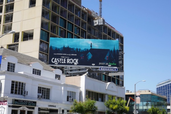 Castle Rock TV series billboard