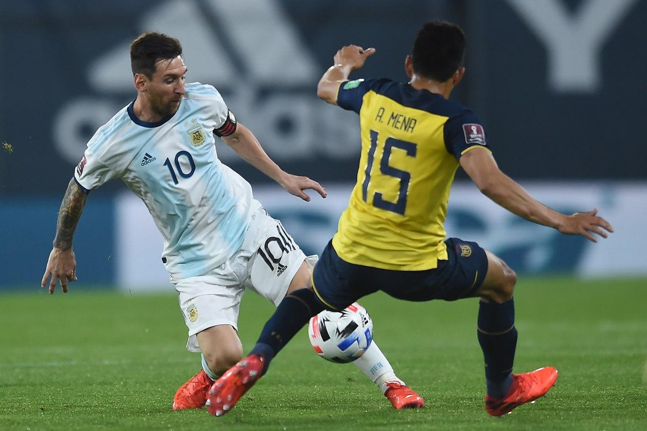 تشيلي يتعادل امام الارجنتين بهدف لكل فريق في ذهاب تصفيات كأس العالم