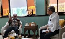 Walikota Parepare Silahturrahmi dengan Menteri Investasi Bahlil Lahadalia