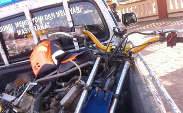 Lakalantas Libatkan Tiga Kendaraan di Trangkil Pati, Begini Kronologinya