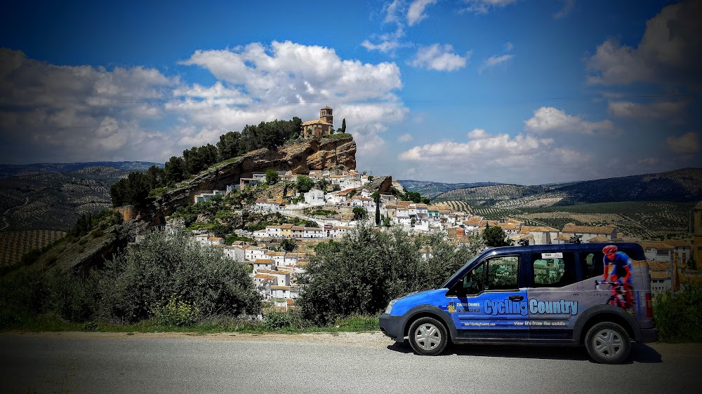 Challenging road cycling in mountainous Southern Spain