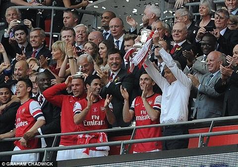 Arsenal đạt Cup FA mùa giải 2013 - 2014