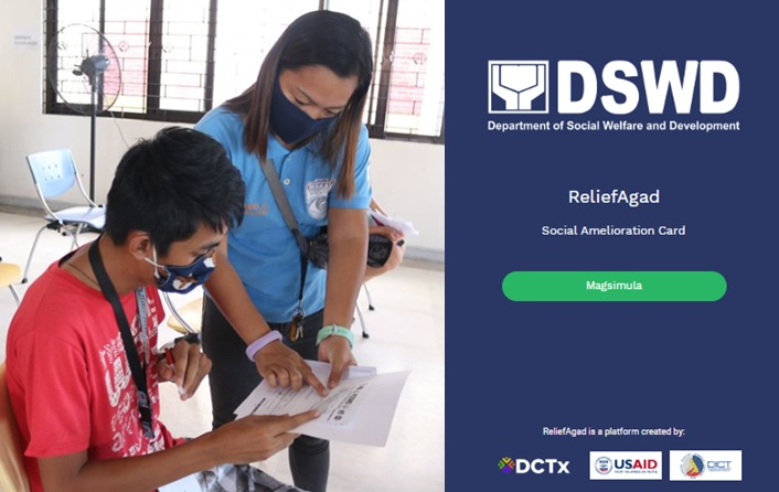 "How to register at ReliefAgad app for ""waitlisted"" DSWD SAP beneficiaries"