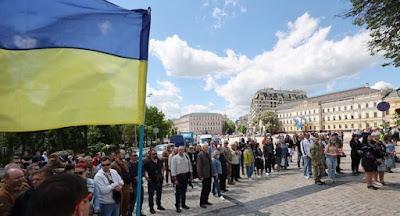 В Україні відзначили День пам'яті бійців, які загинули на Донбасі