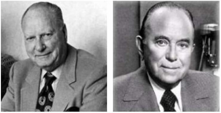 Richard y Maurice, fundadores de McDonald's