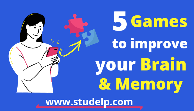Best 5 Games to improve your memory and build your brain