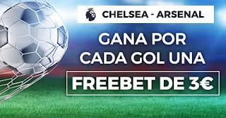 Paston promocion Chelsea vs Arsenal 21 enero 2020