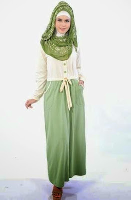 Model Busana Muslim Artis Modern