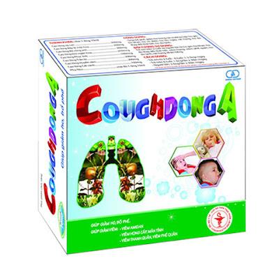 Cough DongA, giúp giảm viêm Amidan, viêm họng