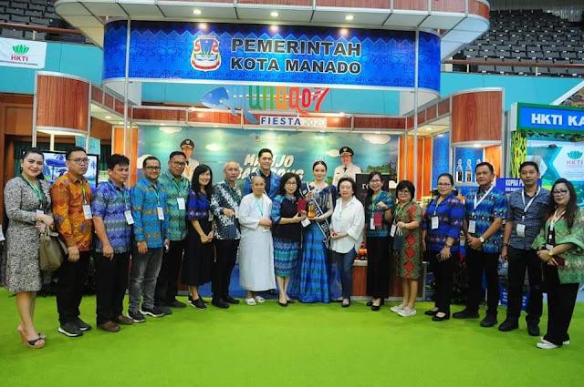 Ikuti Pameran ASAFF 2020, JPAR Suport Penuh Stand  Kota Manado