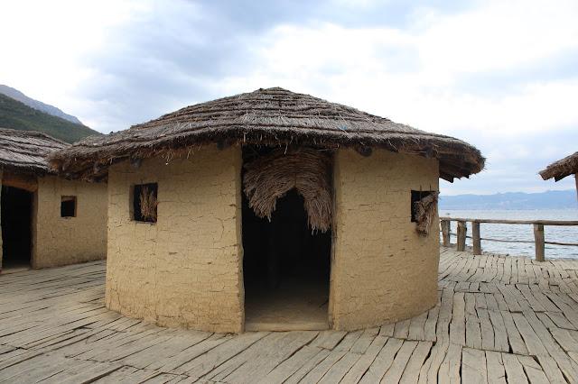 Bay of Bones history North Macedonia Ohrid lake
