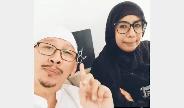 Abu Janda dan istrinya