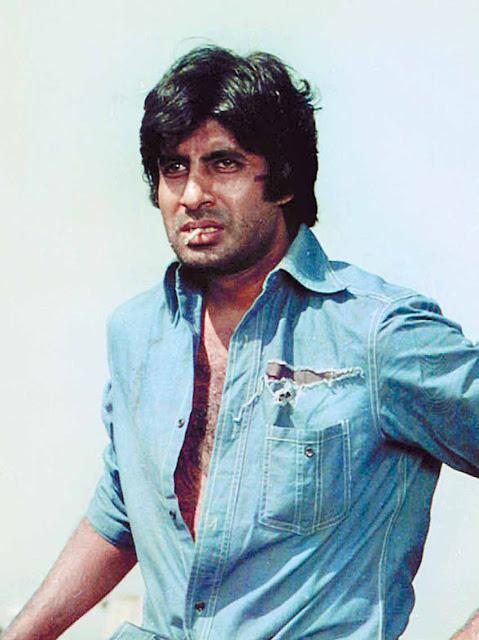 Angry hero of bollywood amitabh bachhan