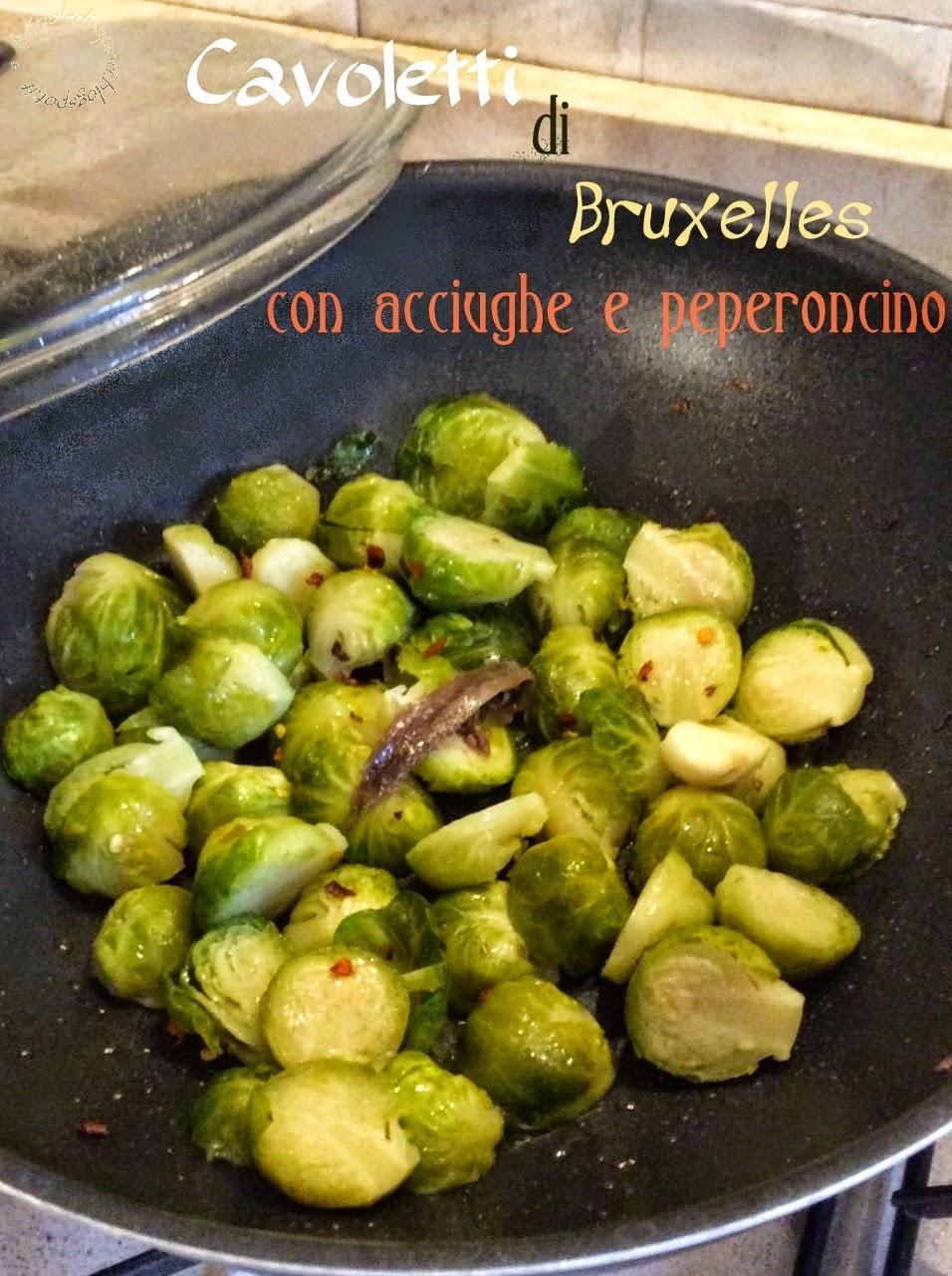 Pianta Cavolini Di Bruxelles cavoletti di bruxelles con acciughe e peperoncino | briciole
