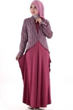 model-busana-muslim-gamis