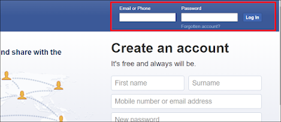 login-facebook-on-computer