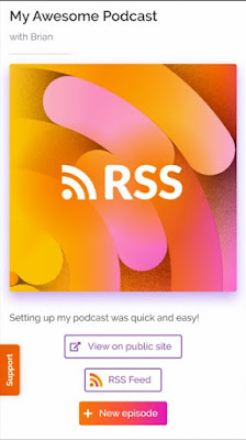 cara membuat link rss feed spotify