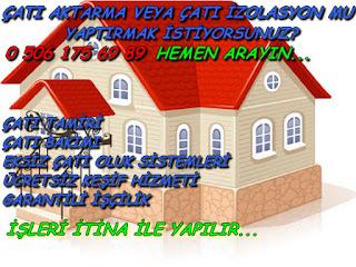 Ankara Çatı Tamiri