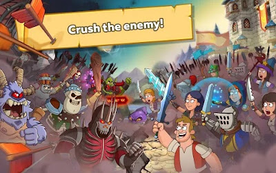 Hustle Castle Fantasy Kingdom MOD APK 1.4.2  Hack Terbaru  Online 2018