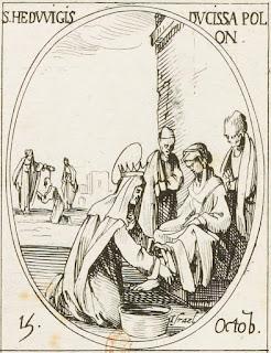 Sainte Hedwige par Jacques Callot