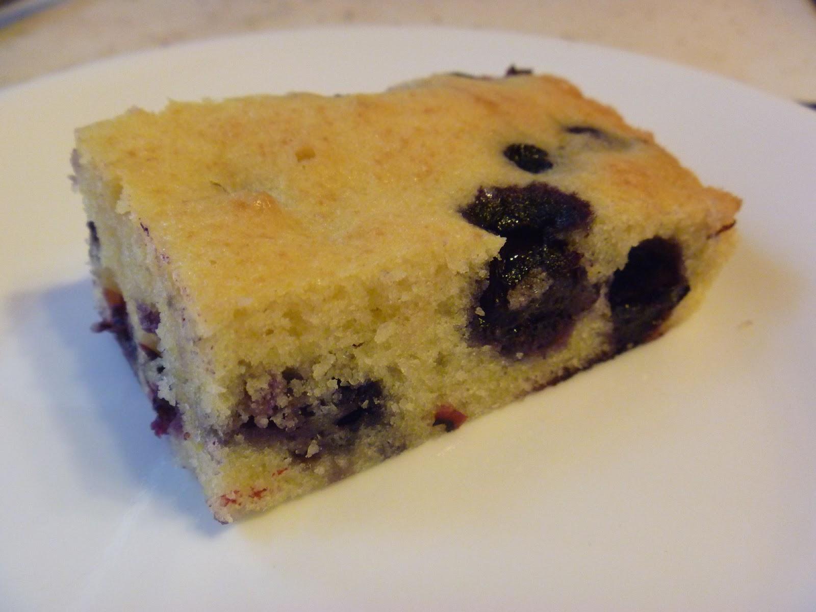My Homemade Iowa Life: Blueberry muffin bars