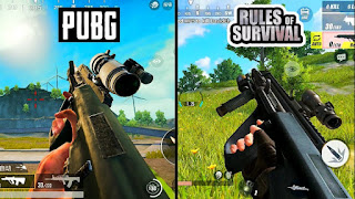 Rules of Survival vs PUBG