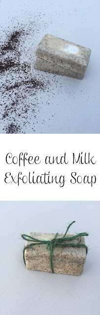 Coffee and Milk Exfoliating Soap DIY <img border=
