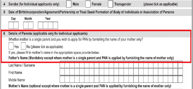 Pan Card Application Form 49A Update : To Make A PAN Card ...