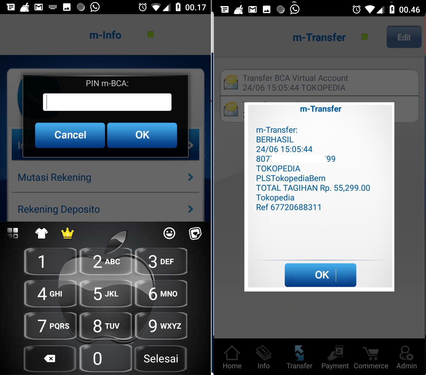 Cara Praktis Transfer Uang Lewat M Bca Baik Antar Rekening Ke Bank Lain Atau Dengan Virtual Account