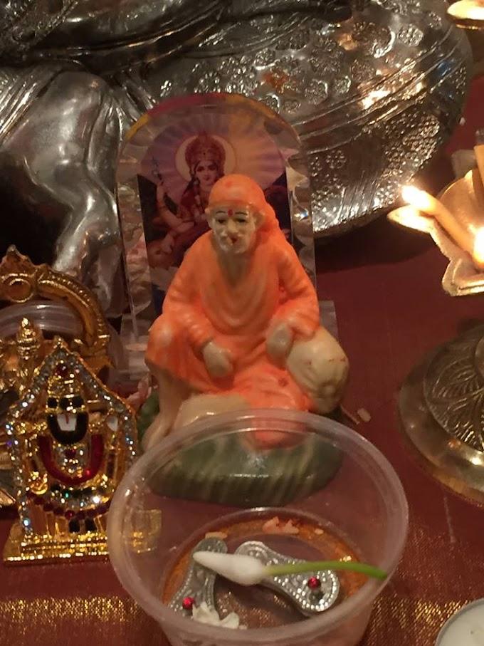 Sai Baba's Vada Prasad Miracle During Mahaparayan