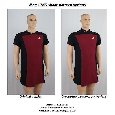 Men's TNG skant sewing pattern