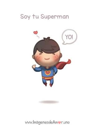 imagen de niño superman tiernas