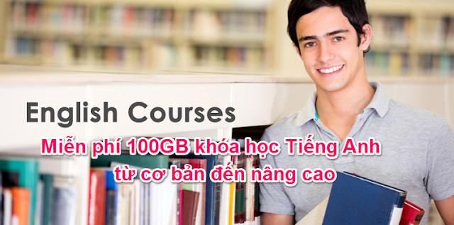 Tải về trọn bộ 100GB khóa học tiếng anh từ cơ bản đến nâng cao