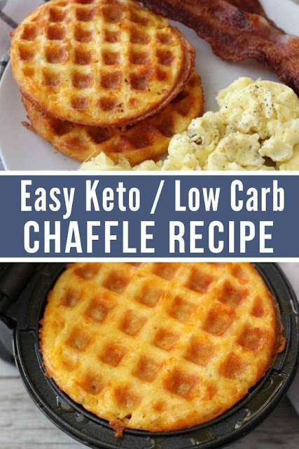 Traditional Keto Low Carb Chaffle Recipe