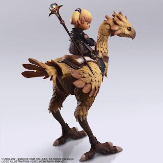 Bring Arts Lady Shantotto y Chocobo de Final Fantasy XI, Square Enix