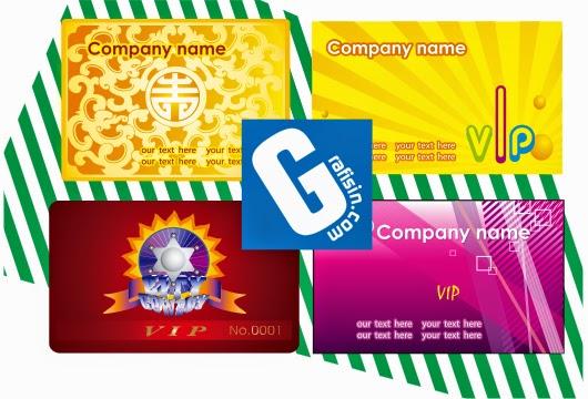 4 Desain Kartu Nama Colorfull - CorelDraw ~ GRAFISin ...