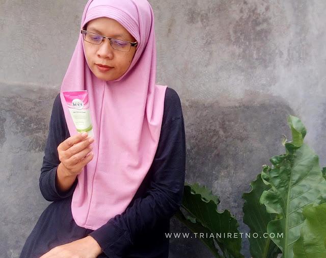 veet hair removal cream untuk kulit kering
