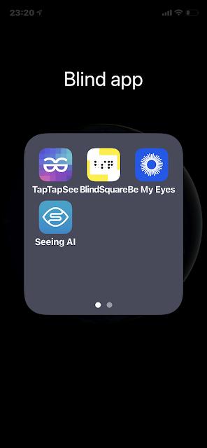 ikona aplikace Seeing AI