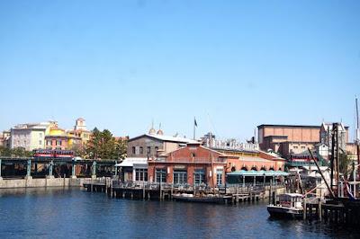 Cape Cod Fishing Boat Harbour Tokyo Disneysea