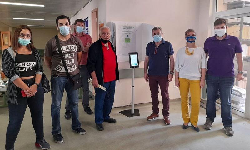 Σταθμός εξυπηρέτησης επικοινωνίας για κωφούς στο Νοσοκομείο Αλεξανδρούπολης