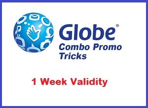 1 Week (7 days) Globe GOSAKTO Combo Promos