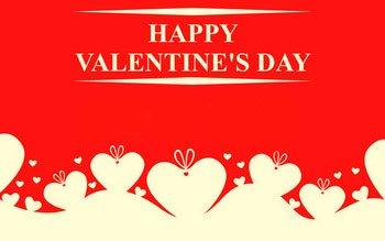 happy valentines day animation
